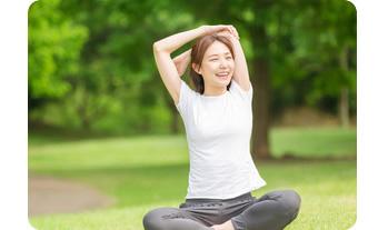自律神経のバランスを整え治癒力や免疫力のアップに。